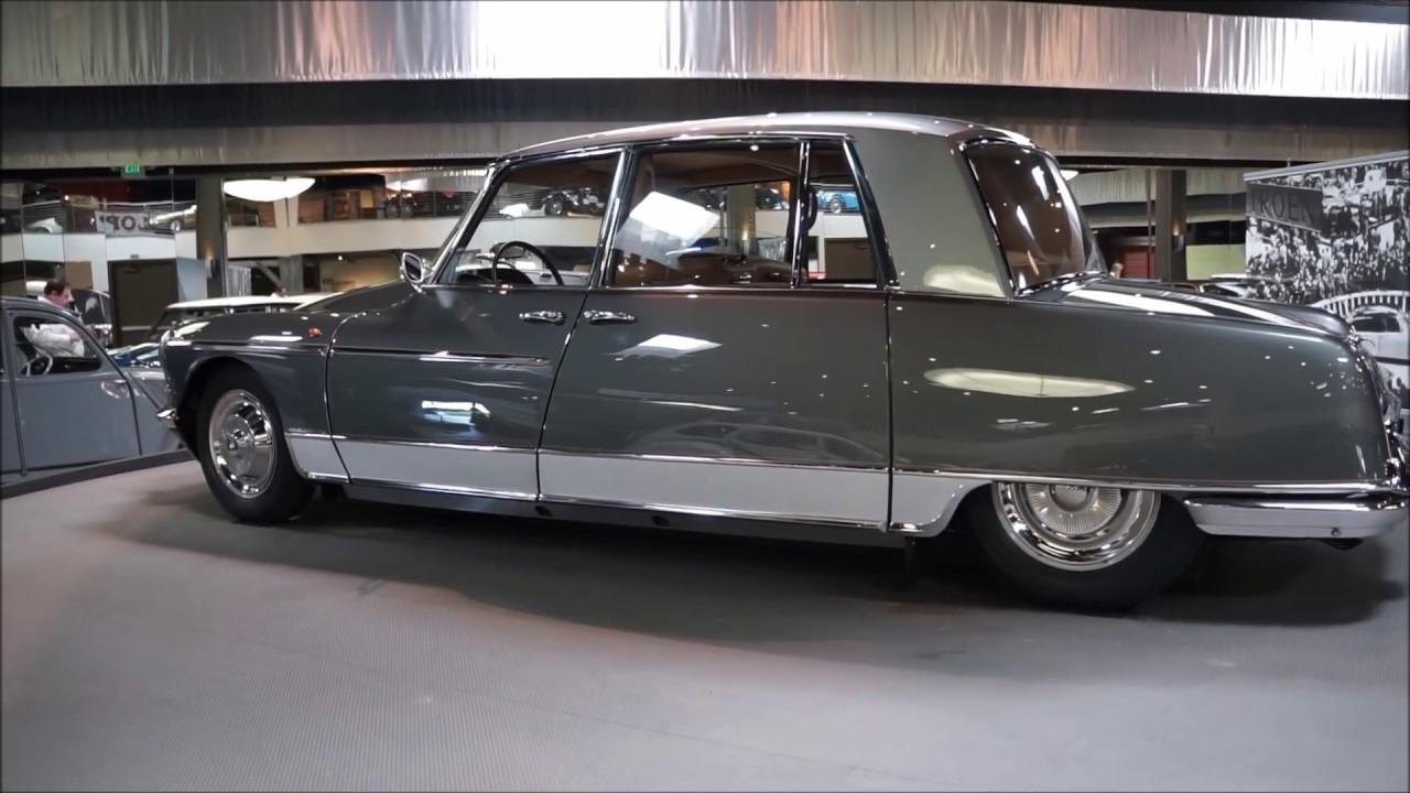 "Mullin Automotive Museum >> ""Citroën: The Man, The Marque, The Mystique"" Exhibit at Mullin Automotive Museum in Oxnard - YouTube"