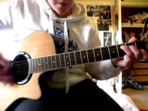 Taylor Swift Im Only Me When Im With You Guitar Cover With Chords
