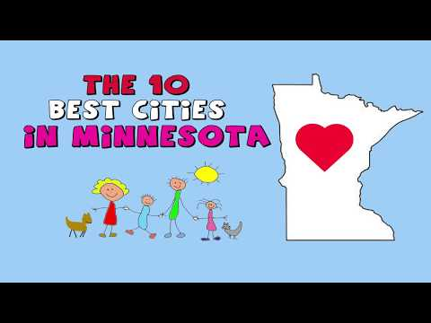 The 10 BEST CITIES to Live in Minnesota