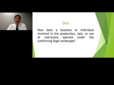 Interplay Between Federal Law and State Law Regarding Marijuana Laws