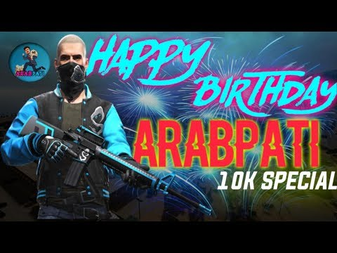 HAPPY BIRTHDAY & 10K SPECIAL CUSTOM ROOMS AND TOURNAMENT PRACTICES