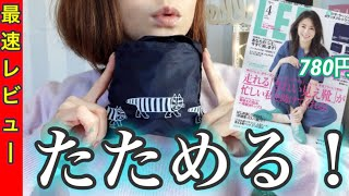 LEE リー 4月号 【雑誌付録】 リサラーソンのトラベルバッグが便利♪