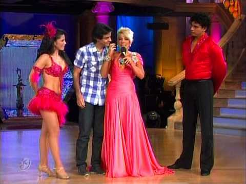 Merengue México: Alessandra Rosaldo y Luis David (Bailando por un Sueño 2CMB 23-05-10)