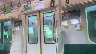JR埼京線【E233系7000番台】各駅停車 車内 中浦和→南与野→与野本町→北与野
