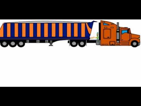dibujos de camiones kw - YouTube