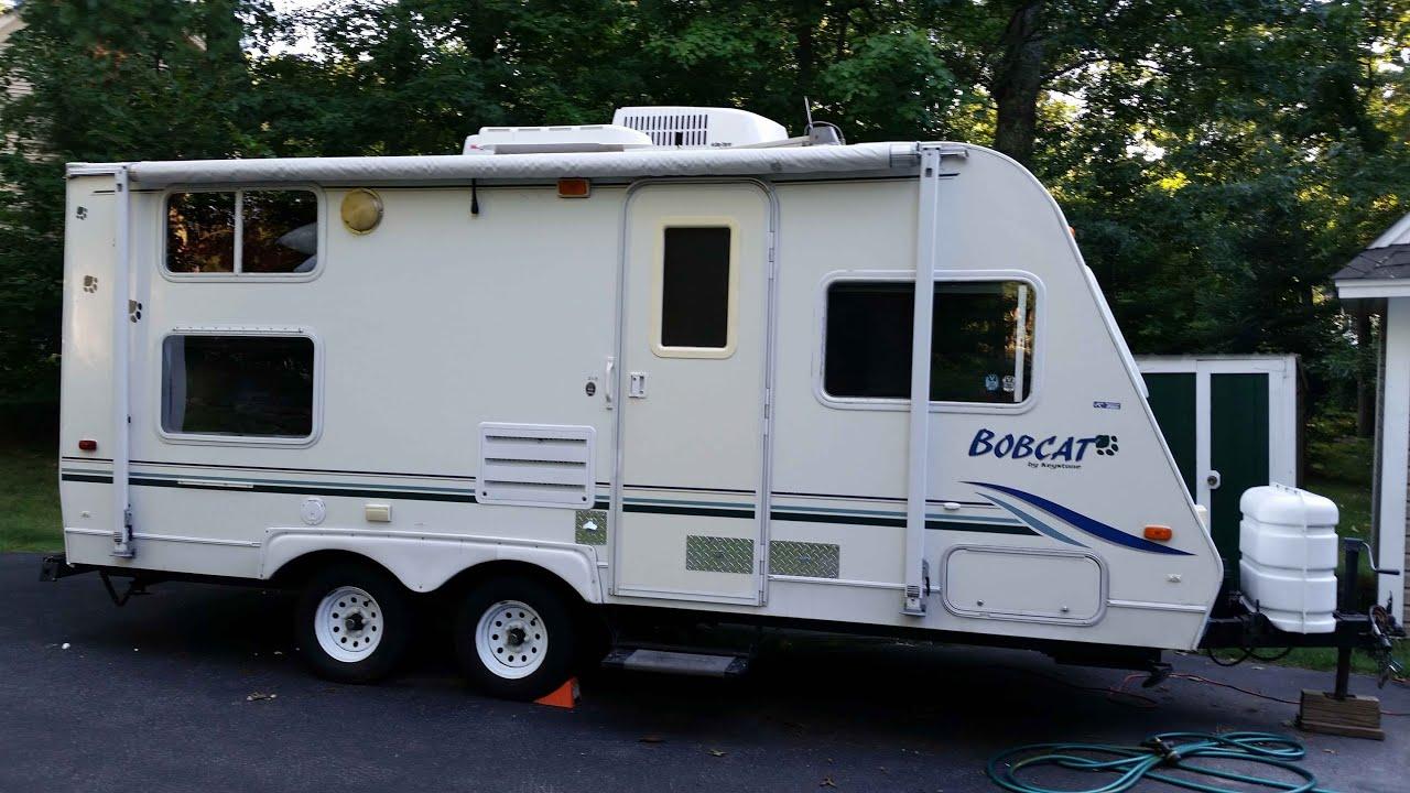 2001 Bobcat by Keystone travel trailer remodel