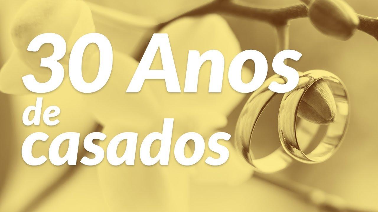 Mensagens De Aniversario De Casamento: 30 Anos De Casados (Mensagem De Aniversário De Casamento