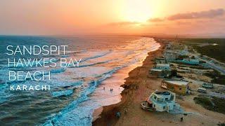 Sandspit | Hawkes Bay Beach Karachi ASMR - Expedition Pakistan