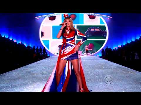 Красотки Victoria's Secret  & Fall Out Boy ft  Taylor Swift (Victoria's Secret Fashion Show 2013)