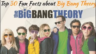 Top 30 Unheard & Fun Facts about Big Bang theory I 2019 I Inside Information
