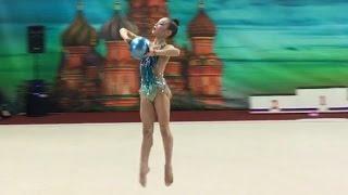 Я на Первенстве Москвы по художественной гимнастике. Мои выступления! Rhytmic gymnastics.VLOG