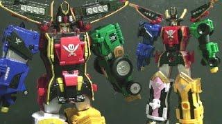 đồ chơi lắp ráp robot siêu nhân hải tặc Power Rangers Super Megaforce Toys 파워레인저 캡틴포스 장난감