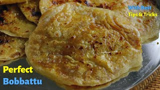 నేతి బొబ్బట్లు  || PuranPoli || How to make perfect Bobbatlu at Home in Telugu by Vismai Food