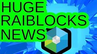 HUGE RAIBLOCKS NEWS!! REBRANDING? PARTNERSHIP?