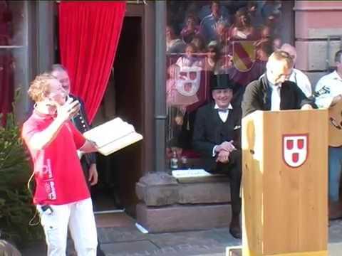 200 Jahre Baden - Historische Theateraufführung Teil 3