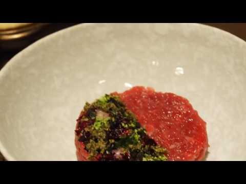 Chef Nikolas Ramirez introduce Valentine Set 2017 at Char Restaurant, Indigo Bangkok
