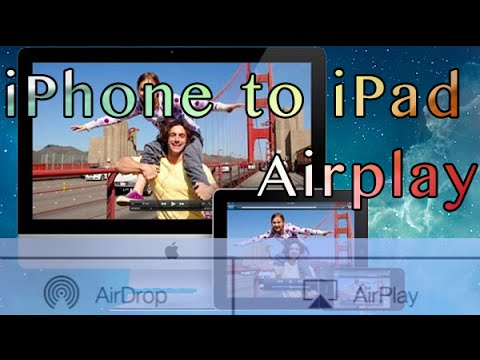 How to Airplay your iPhone on iPad