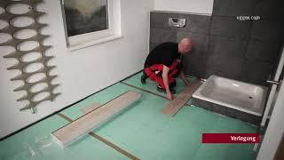 Egger Aqua Laminatboden Im Badezimmer Verlegen Youtube