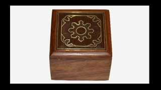 Indian Handmade Wooden Jewelry Boxes