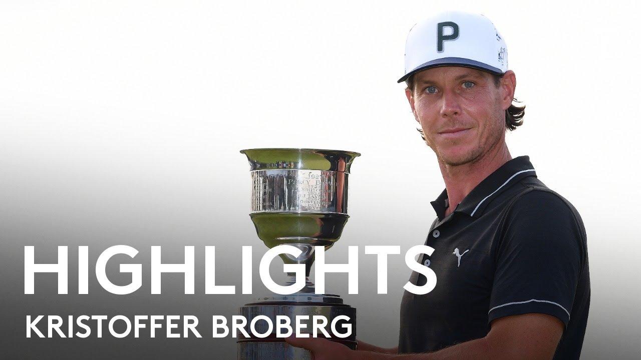 Kristoffer Broberg breaks down after gutsy victory | Winning Round Highlights | 2021 Dutch Open