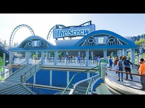 "Planet Coaster :: ""The Screw"" Roller Coaster Platform"