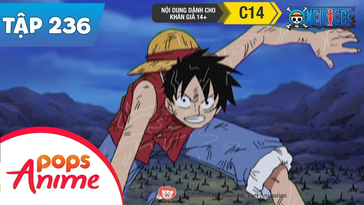 One Piece Tập 236 - Luffy Đấu Với Usopp - Nghị Lực Của Hai Nam Nhi Xung Đột - Phim Hoạt Hình