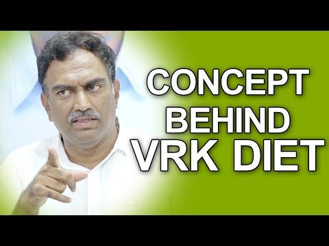 Concept Behind Veeramachaneni Ramakrishna Diet | VRK Diet | Gold Star Entertainment