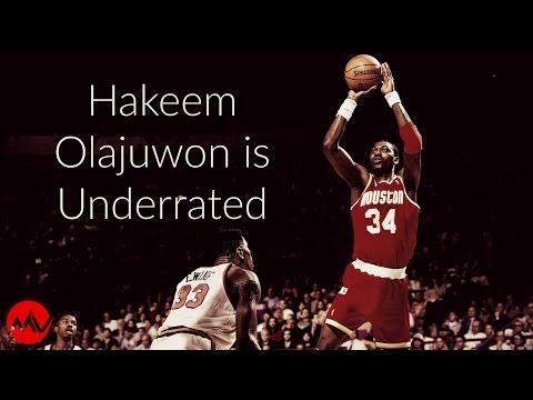 Hakeem Olajuwon is Underrated