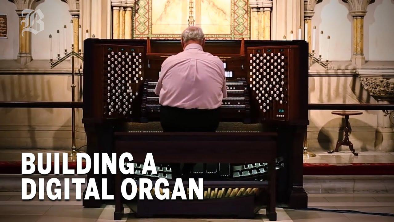 The build of an electronic organ | Boston Globe