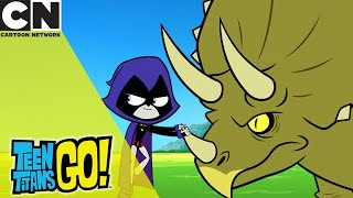 Teen Titans Go! | Dinosaur Training | Cartoon Network UK