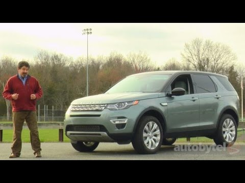 2016 Land Rover Discovery Sport Hse Lux Test Drive Video Review