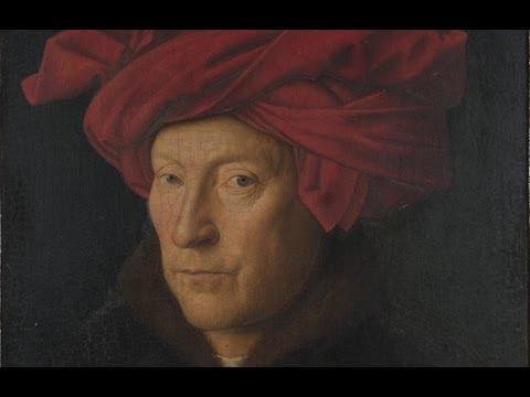 Jan van Eyck, Portrait of a Man in a Red Turban (Self-Portrait?), 1433