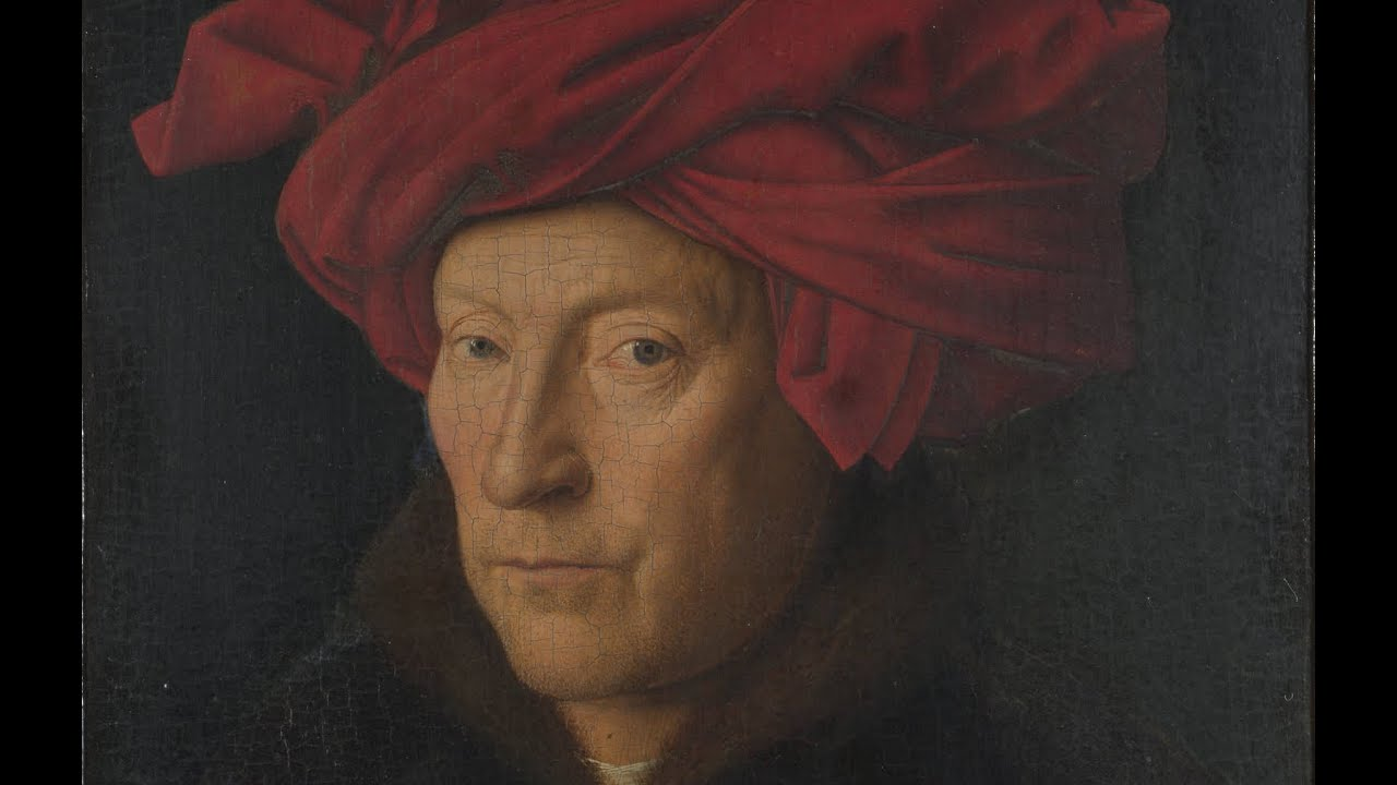 A review of man in a red turban by jan van eyck