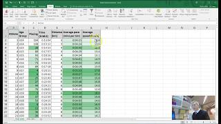 EXCEL TUTORIAL - creating a pace / speed athletics spreadsheet using FLASH FILL