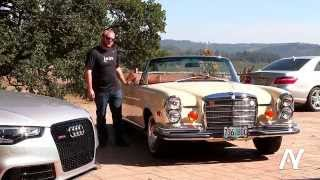 1971 Mercedes-Benz 280SE 3.5 Cabriolet Drive & Review