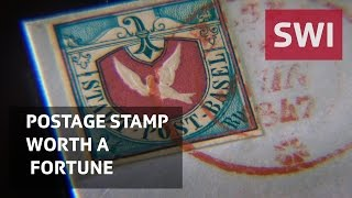 Postage stamp worth a fortune