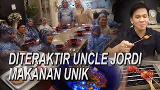 The Onsu Family - DITERAKTIR Uncle Jordi makanan unik