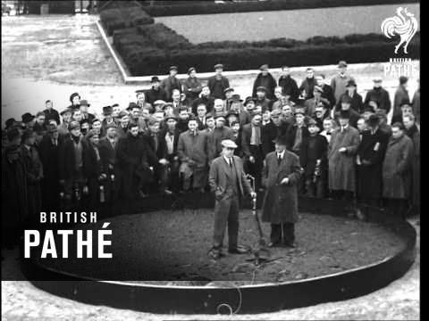 Opening Of New Calverton Colliery (1946)