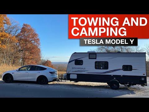 Tesla Model Y Towing