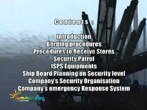 ISPS training video
