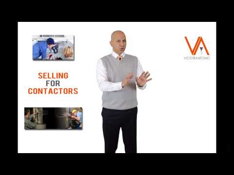 Selling for Contractors - 3 Steps Macro Sales Process for Selling Residential Services