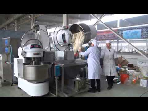 Bakery Bread Automatic Hamburger Production Line Video