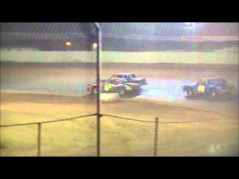 Pure Stock feature @ The Legend 105 Motorsports Park 5/26/2012 & 5/27/2012.wmv