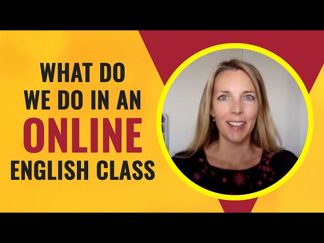 What do we do in an online training session?