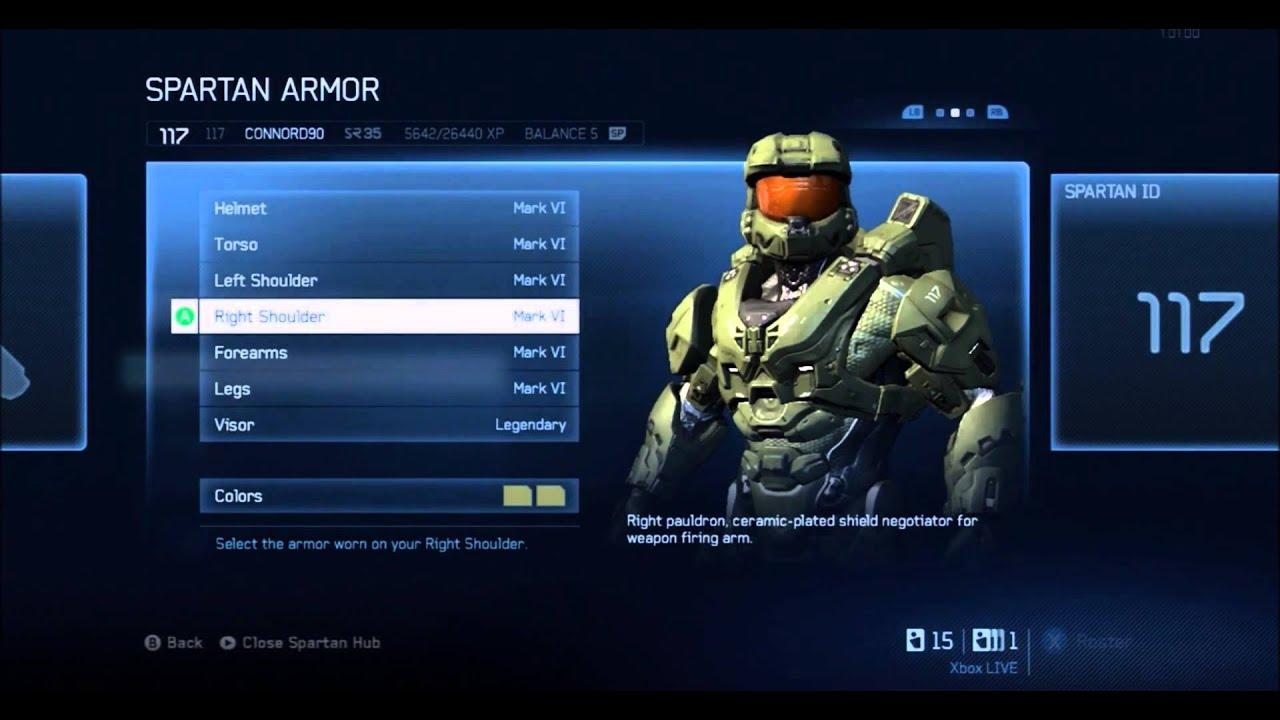 Halo 4 Mark Vi Armor - Exploring Mars