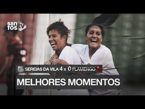 SEREIAS DA VILA 4 X 0 FLAMENGO | MELHORES MOMENTOS | BRASILEIRÃO (08/02/20)