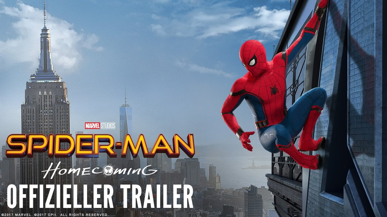 Spider-Man: Homecoming - 2. offizieller Trailer (deutsch | german) | Marvel HD