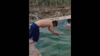 Swimming in Summer Kurdistan