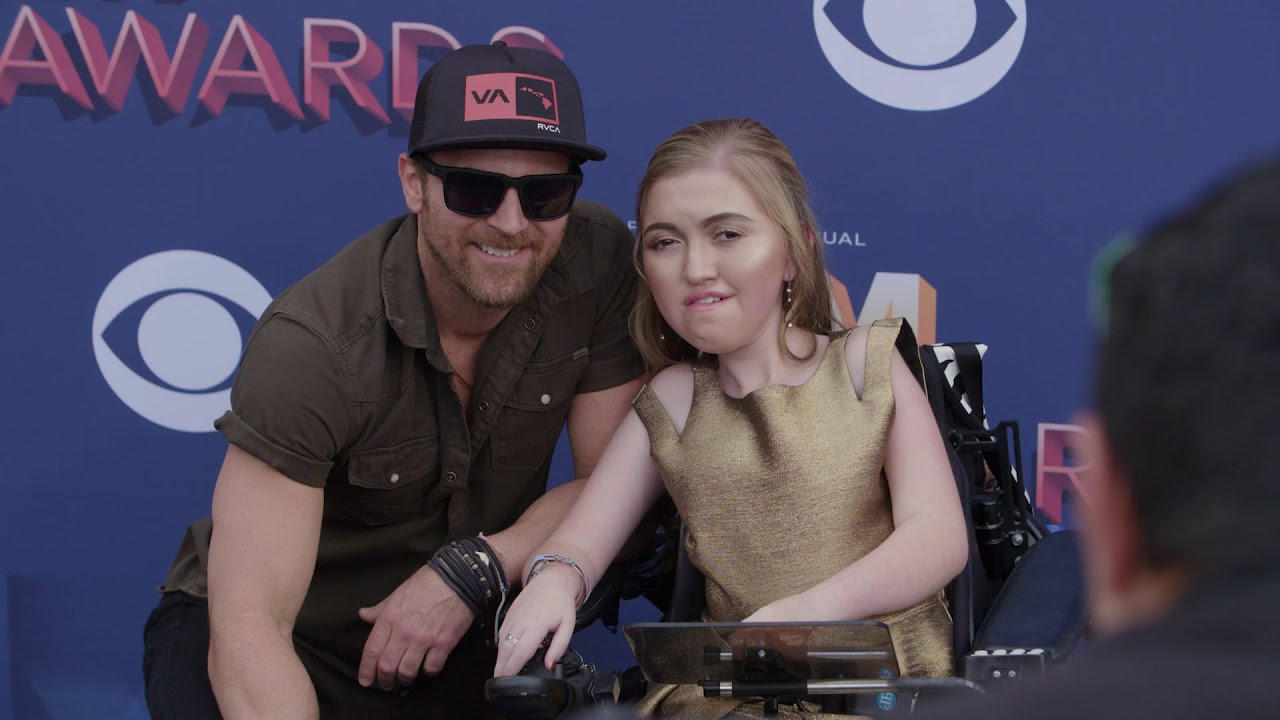 Kip Moore Grants Sydney's Wish at the Academy of Country Music Awards   Make-A-Wish®