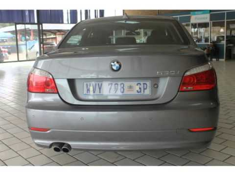 2008 Bmw 5 Series 530i At E60 Auto For Sale On Auto Trader South